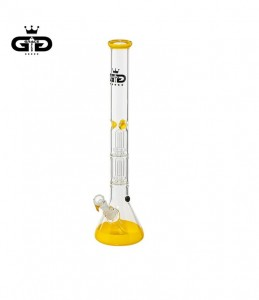 Bongo Grace Glass | Big Baked Beaker yellow 56 cm