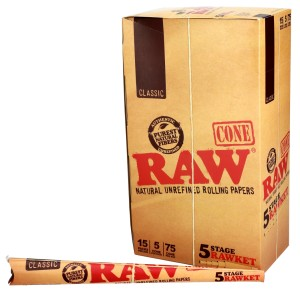 Jointy RAW stożki CONE 5 stage RAWKET II BOX 15