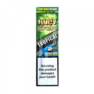Bibułka Blunt Wrap JUICY HEMP tropical 2 szt