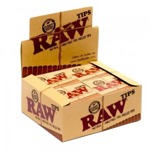 Filterki skręcone RAW PREROLLED TIPS BOX 20 szt