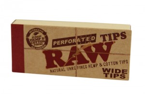 Filterki perforowane RAW WIDE TIPS