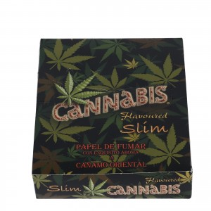 Bibułka RAW CANNABIS Flavored KS slim BOX 25